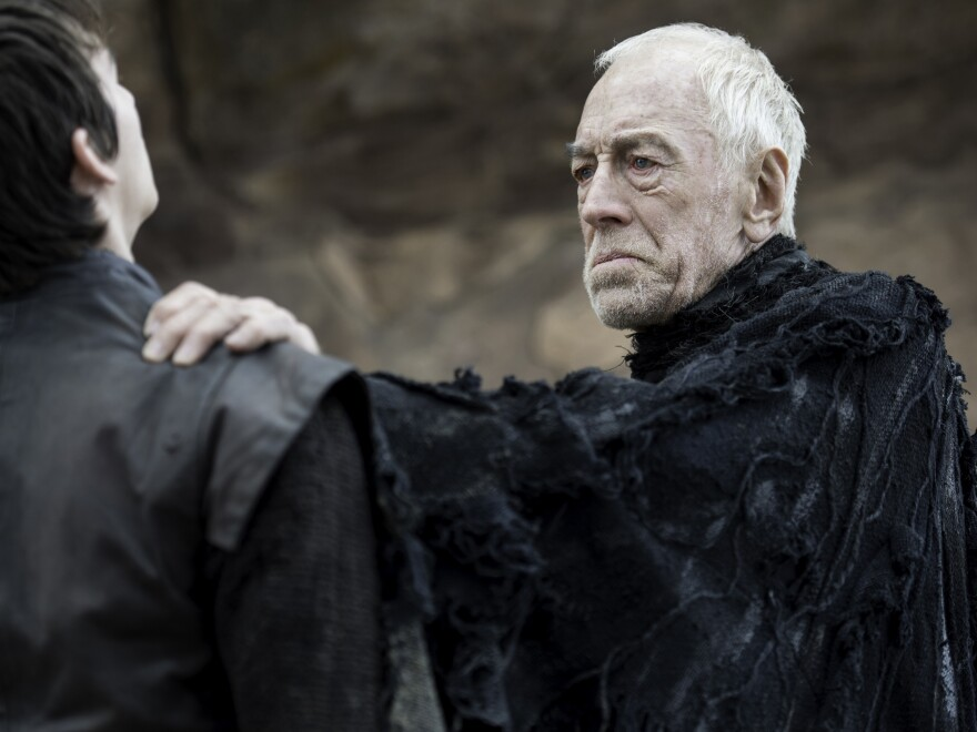 Von Sydow played the Three-Eyed Raven on HBO's <em>Game of Thrones</em>.