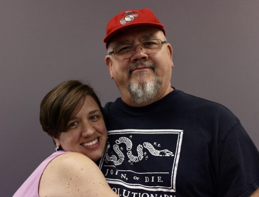 Mellissa Clancy and Greg Adams