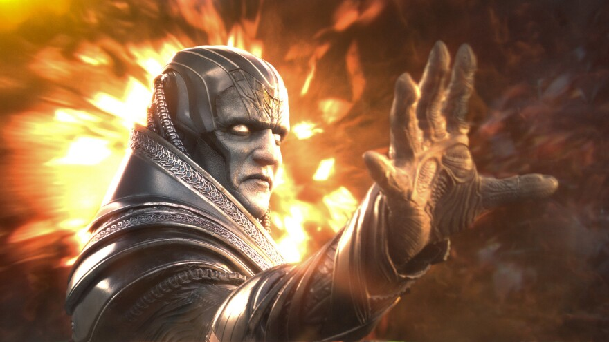 They promise us that's Oscar Isaac under there playing Apocalypse in <em>X-Men: Apocalypse</em>.