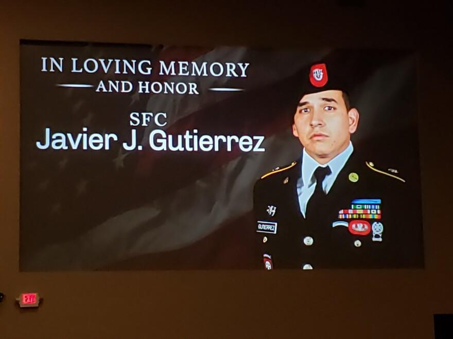 "Javier ""Jaguar"" Gutierrez was an Army Sergeant 1st Class from San Antonio. He was killed in Afghanistan on Feb. 8."