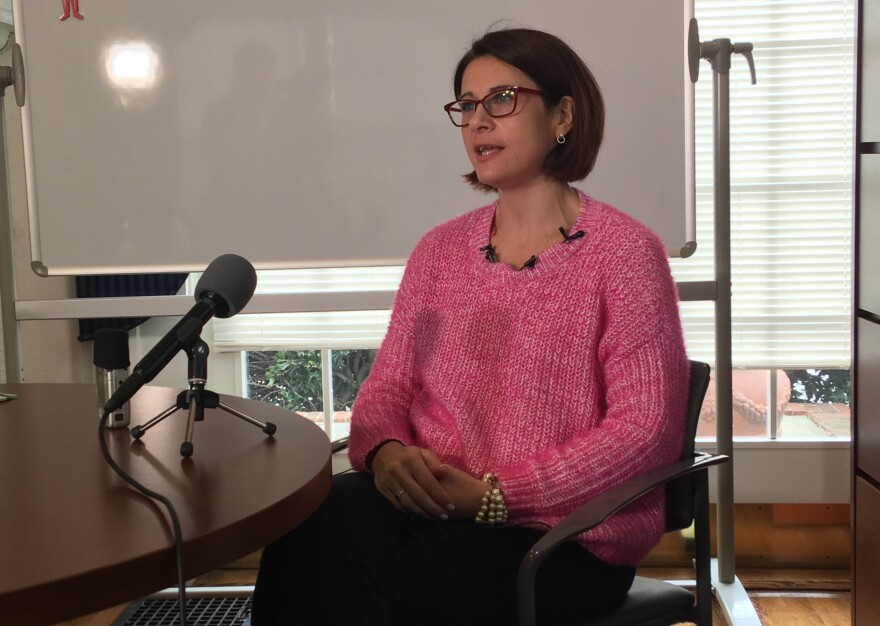 Dr. Katie Passaretti, Medical Director for Infection Prevention at Atrium Health, said the risk of the newly documented coronavirus appearing in Charlotte is low.