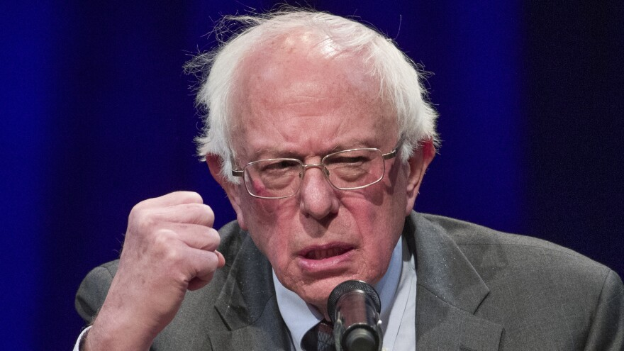 Sen. Bernie Sanders, an independent who became an ideological leader in the Democratic Party after his 2016 campaign against Hillary Clinton, faces a far more crowded and liberal field this time.