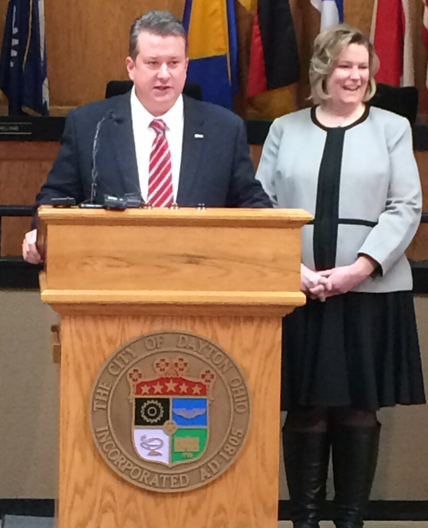 Dayton Mayor Nan Whaley announced the hire of Warren Price as Dayton's new city manager. His first day is Jan. 12.