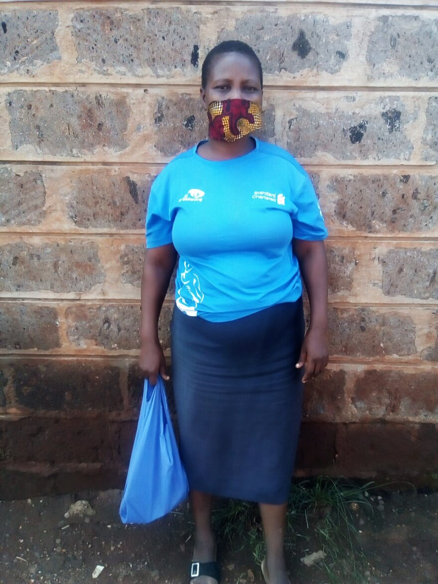 Josephine Oguta is an early childhood development teacher at a nursery school in Kibera, a poor community in Nairobi. She is currently out of work as schools in Kenya remain closed because of the pandemic.