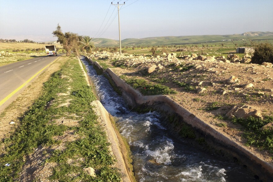 Israel captured the West Bank in the 1967 war and has been building settlements in the territory ever since. Control of the limited water supply is also a part of the conflict.