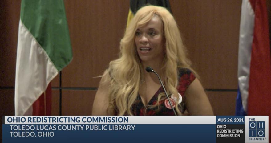 Erika White testifies in Toledo, Ohio