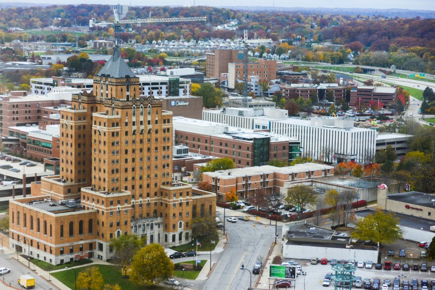 A photo of the City of Akron.