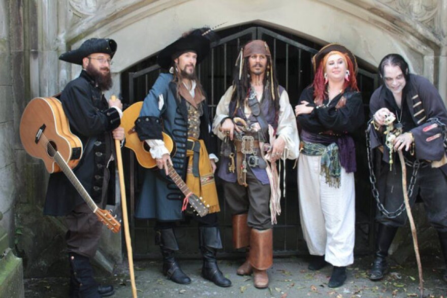 Band of Pirates will perform at Saturday's Ye Olde Yellow Cabaret