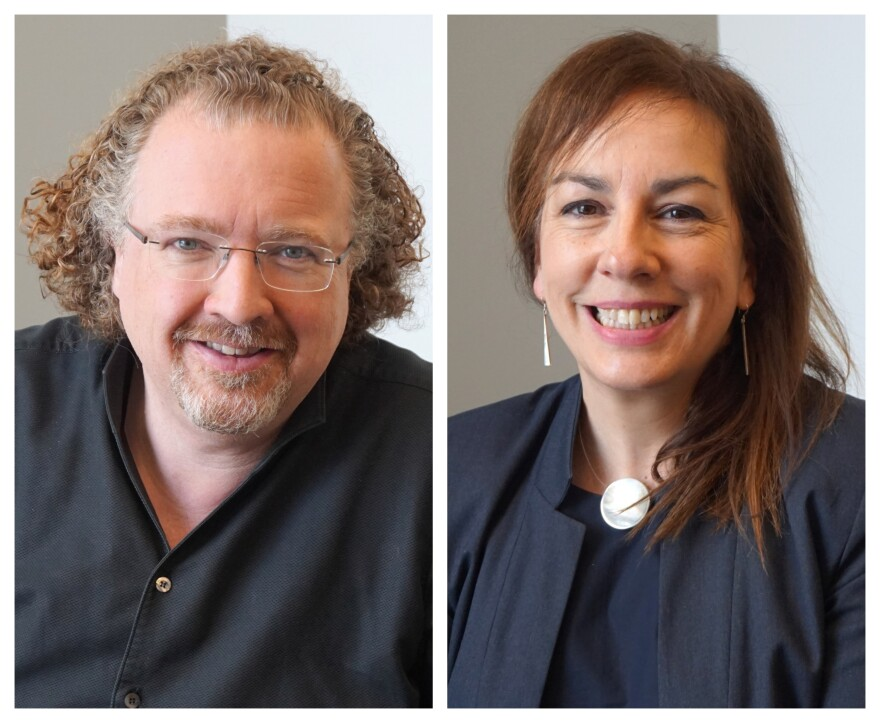 (May 7, 2019) SLSO's music director designate Stéphane Denève and CEO  Marie-Hélène Bernard talk about wrapping up the 2018-2019 season and what's ahead for the symphony orchestra on Tuesday's talk show.