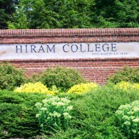photo of Hiram College entrance