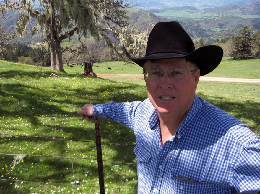 Rancher Bill Gow doesn't want the proposed Pacific Connector Gas Pipeline to travel across his Douglas County, Ore., ranch. While he has refused to negotiate with the pipeline company, ultimately a court may force him and other landowners to allow the project on their land.