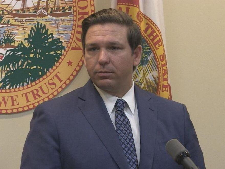 Florida Gov. Ron DeSantis signed an executive order Wednesday saying people 65 and older will have priority for COVID-19 vaccinations.