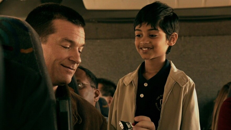 In the central relationship of the brisk comedy <em>Bad Words</em>, Guy Trilby's (Bateman) sour runs up against 10-year-old competitor Chaitanya's (Rohan Chand) sweet.