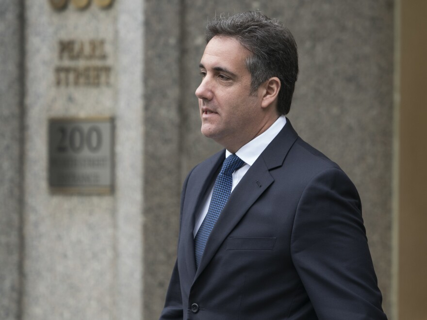 "Michael Cohen, a longtime personal lawyer and confidante for President Trump, said Monday his ""first loyalty"" rests with his family."