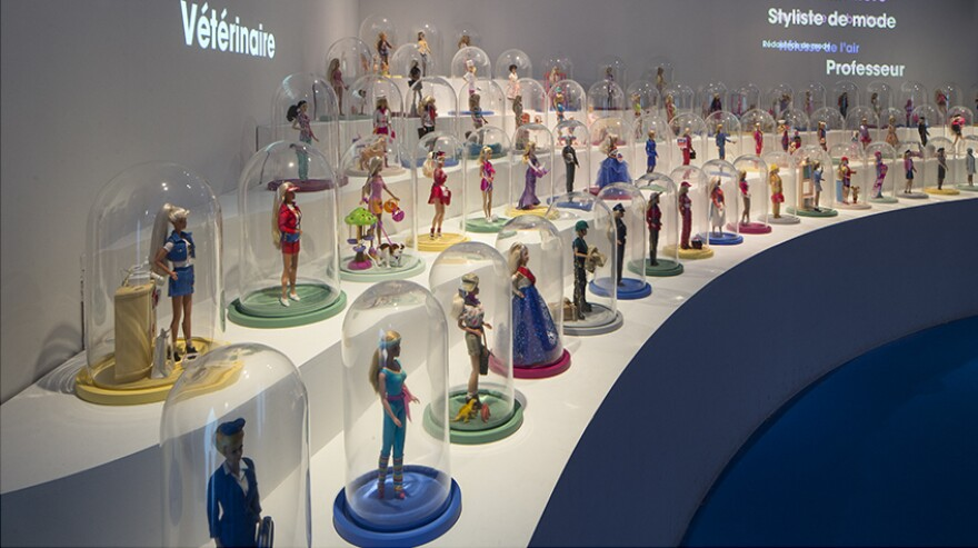 Seven hundred dolls, spanning nearly six decades of Barbie history, are on display at the Musée des Arts Décoratifs.