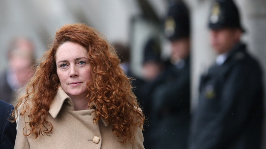 Rebekah Brooks, who rose to the top spot at Rupert Murdoch's News International.