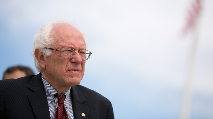 Sen. Bernie Sanders' household took in more than $205,000 in 2014, and paid the feds nearly $28,000 in taxes.