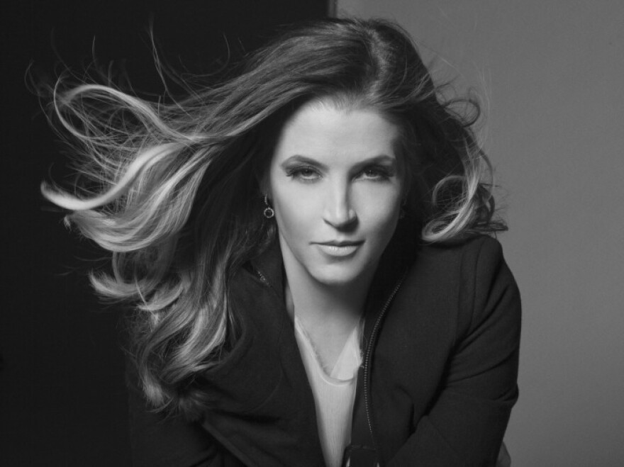 Lisa Marie Presley has weathered personal storms with grace. On her new album, she establishes her own distinct identity.