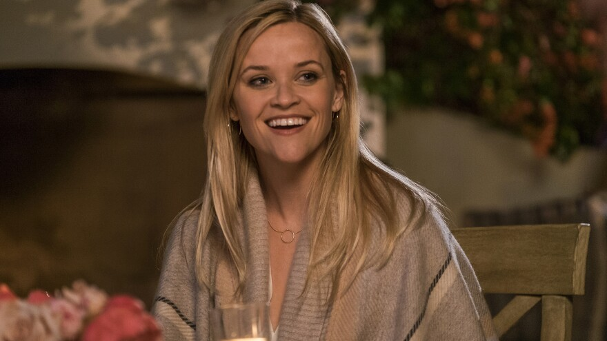 """<em>Home Again</em> stars Reese Witherspoon as a freshly separated woman who opens her home to three young filmmakers. """"She can make any word relatable,"""" Meyers-Shyer says of the actress. """"She can really say anything and you are with her."""""""