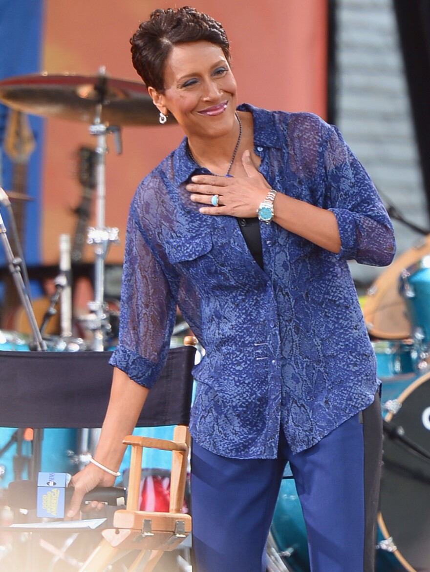 <em>Good Morning America</em> co-host Robin Roberts recently made an offhand comment on Facebook that revealed she's in a same-sex relationship.