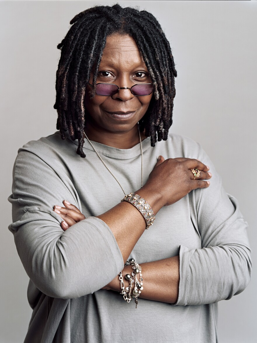 Comedian, actress and talk show host Whoopi Goldberg.
