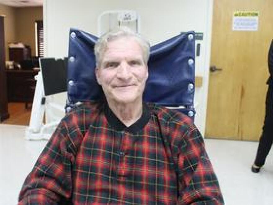 Richard Montgomery is a short-term rehabilitation patient at The Commons at Orlando Lutheran Towers, a facility where nursing home beds are in short supply.