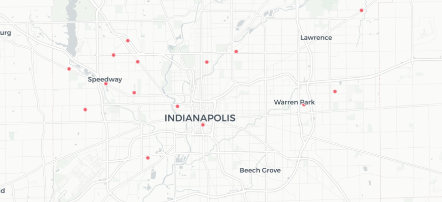 In the quartile of Marion County's most black neighborhoods, only had 3 of the county's 30 testing sites as of June 25th.