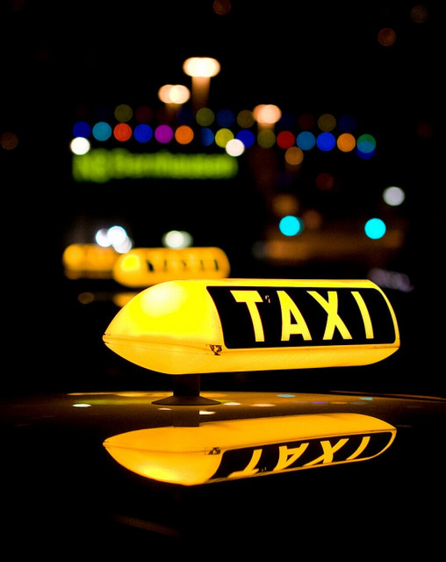 Uber has been criticized for competing with taxi cabs without being subject to the same regulation.