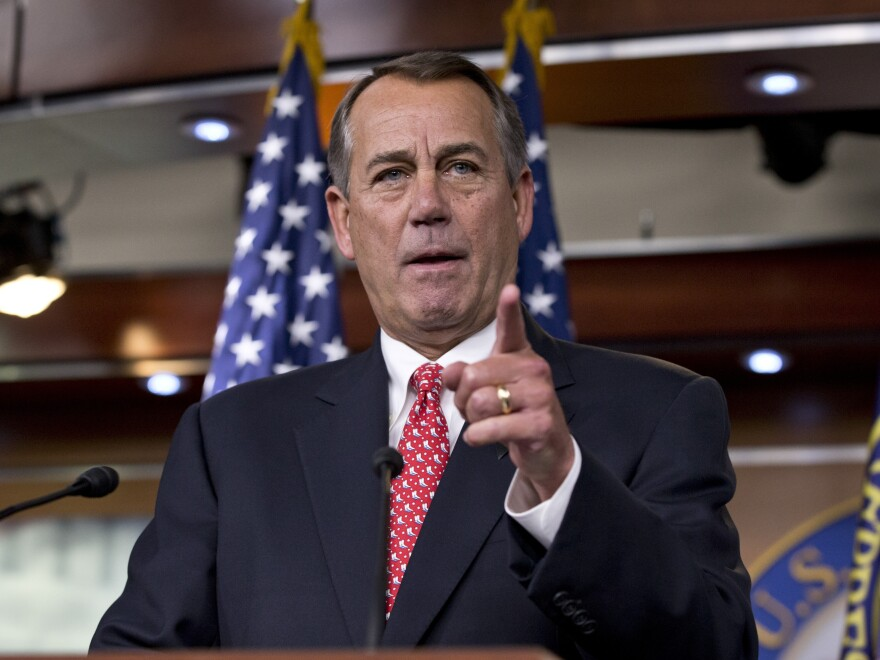 "House Speaker John Boehner has said he wants to ""clean the barn"" before he leaves Congress."