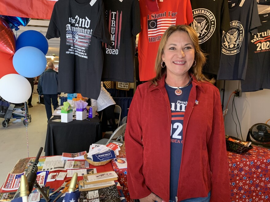 "Montana State Rep. Theresa Manzella says President Trump's message of ""America first"" resonates in conservative Ravalli County, south of Missoula."