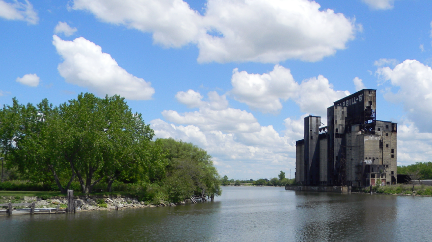 City leaders are attempting to increase public access to Buffalo's waterways, long blocked by aging industrial ruins and polluted land.
