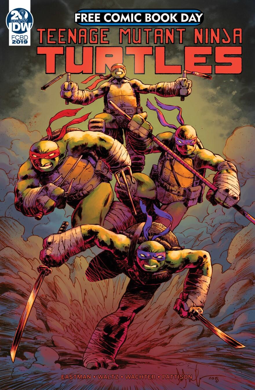 <em>Teenage Mutant Ninja Turtles</em>