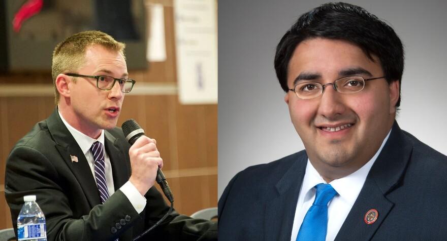 Republican Niraj Antani faces Democrat Zach Dickerson in Montgomery County's House of Representatives 42nd District