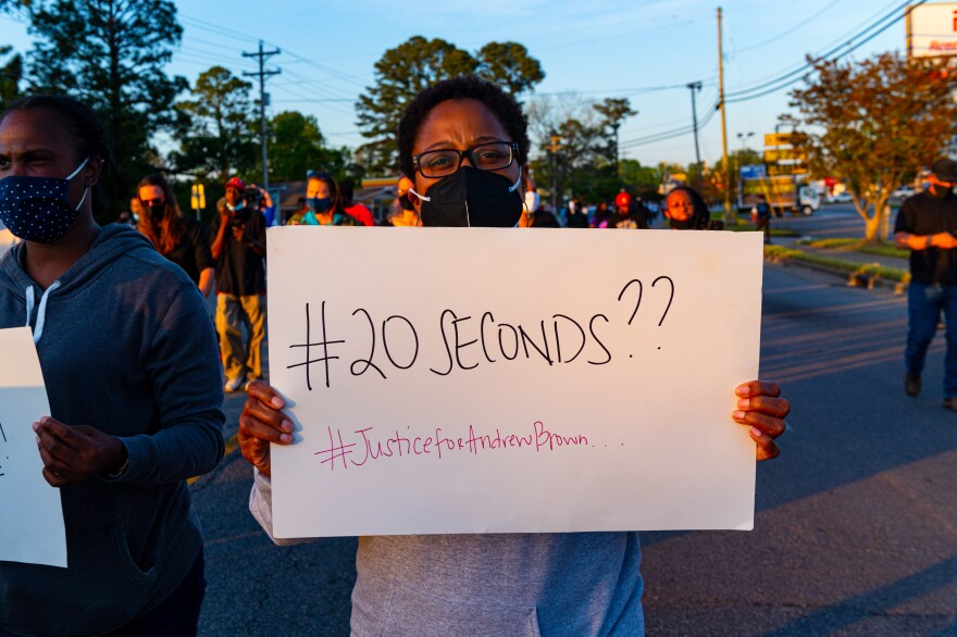 """Son Of Andrew Brown Jr. On Body Cam Video: """"It's An ..."""