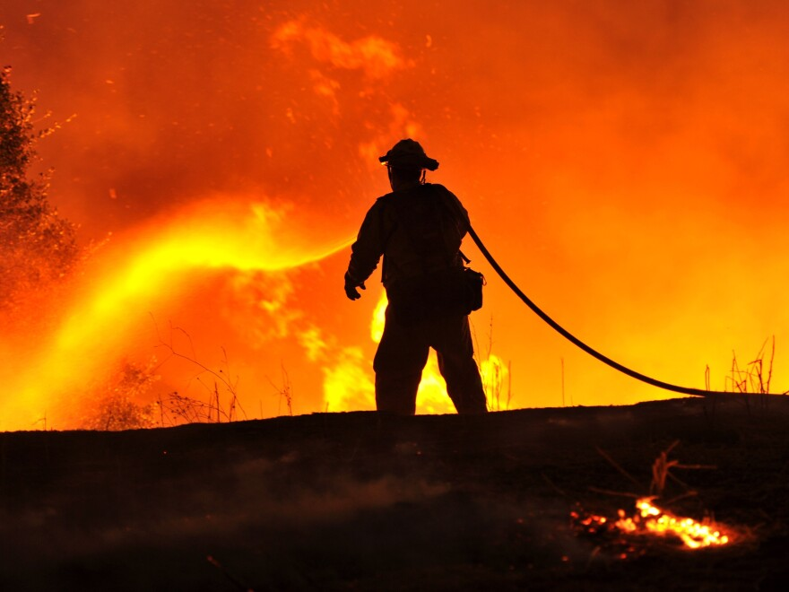 "The ""Rocky Fire"" isn't expected to be contained until Aug. 10."