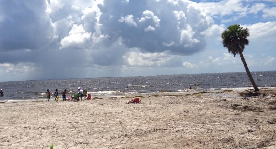Ben T. Davis Beach in Tampa.