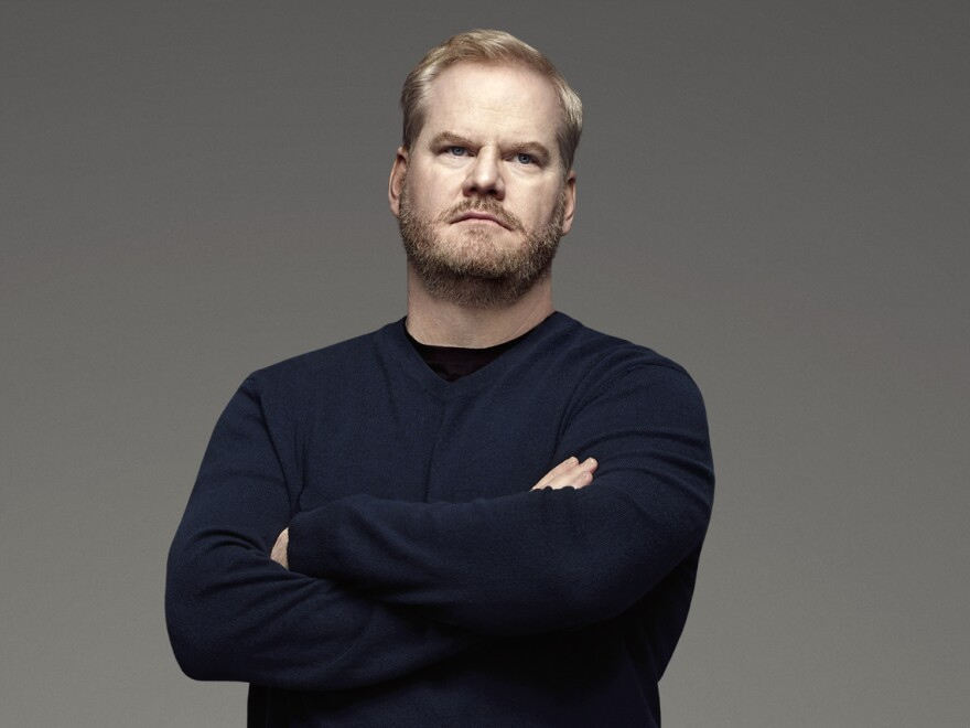 "Jim Gaffigan spent years in stand-up before, finally, someone took a chance on him: that someone just happened to be David Letterman. ""The weird thing is, because Letterman thought I was good, everyone changed their mind,"" he says. ""It changed the narrative surrounding me, completely."""