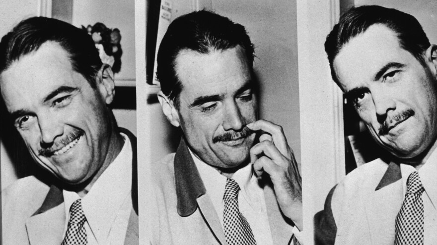 A new book examines billionaire filmmaker Howard Hughes and the sexual relationships he had with Hollywood actresses. He's shown above in 1947.