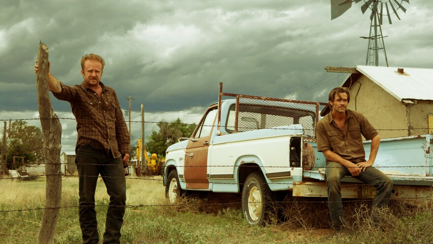 Ben Foster and Chris Pine in <em>Hell or High Water.</em>