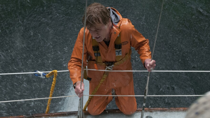 Robert Redford stars in <em>All Is Lost </em>as a solitary man struggling to make his yacht seaworthy again after it collides with a rogue shipping container adrift in the Indian Ocean.