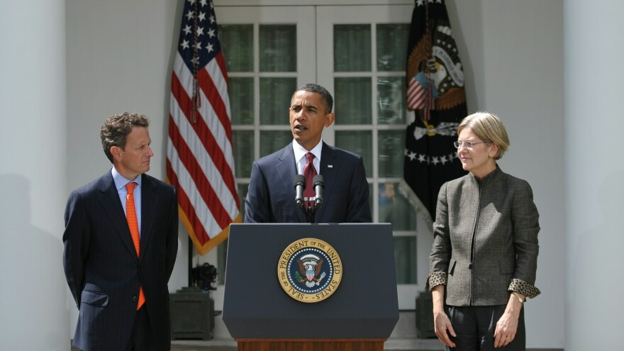 In a war of words between Timothy Geithner and Elizabeth Warren over the bank bailout, who's the victor?