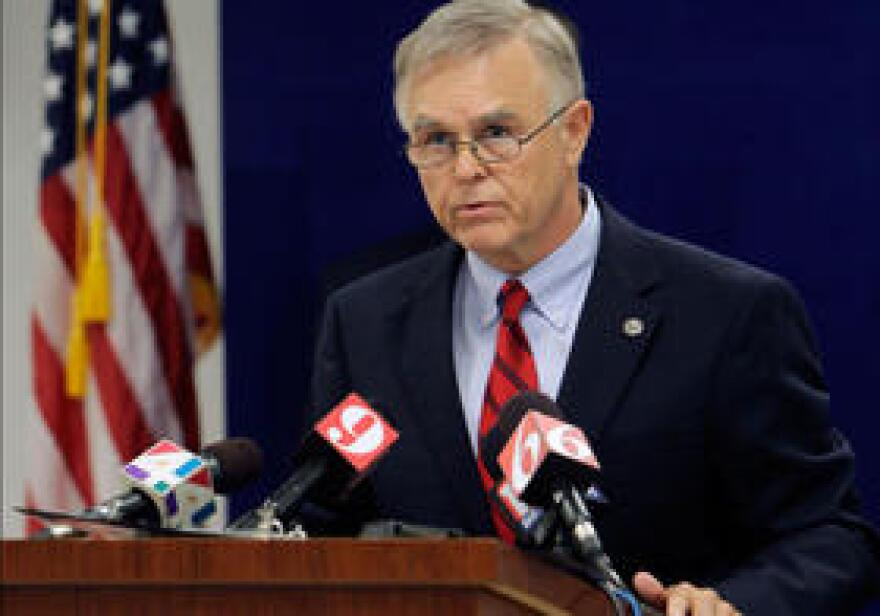 Ousted FDLE Commissioner Gerald Bailey