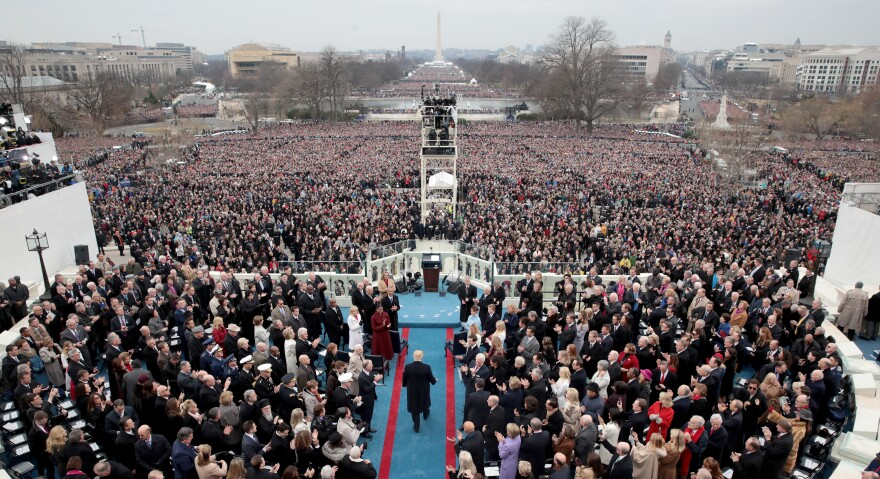 Saturday marks the first anniversary of President Trump's inauguration.