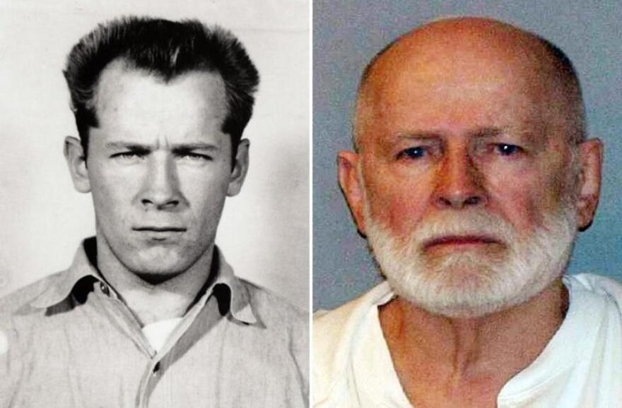 "James ""Whitey"" Bulger is seen in two booking photos, decades apart -- 1959 and after his capture in 2011. The convicted mobster and murderer was killed in prison."