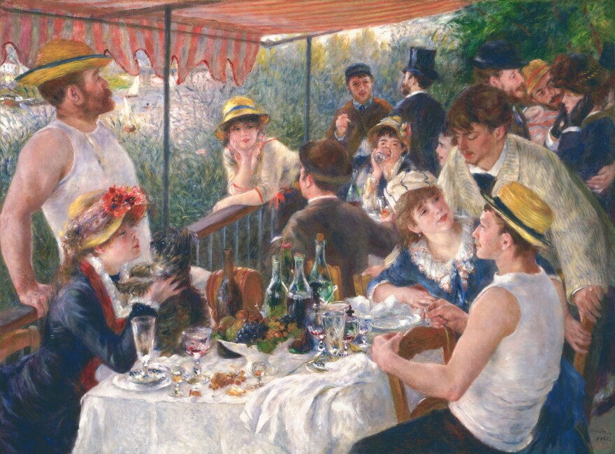 "Phillips believed Pierre-Auguste Renoir's <a href=""https://www.phillipscollection.org/collection/luncheon-boating-party"">Luncheon of the Boating Party</a><em> </em>(1880-81, oil on canvas) was ""one of the greatest paintings in the world."" He acquired it in 1923. ""Such a picture creates a sensation wherever it goes,"" he said."