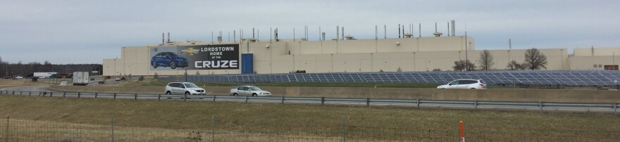 Former General Motors Lordstown plant