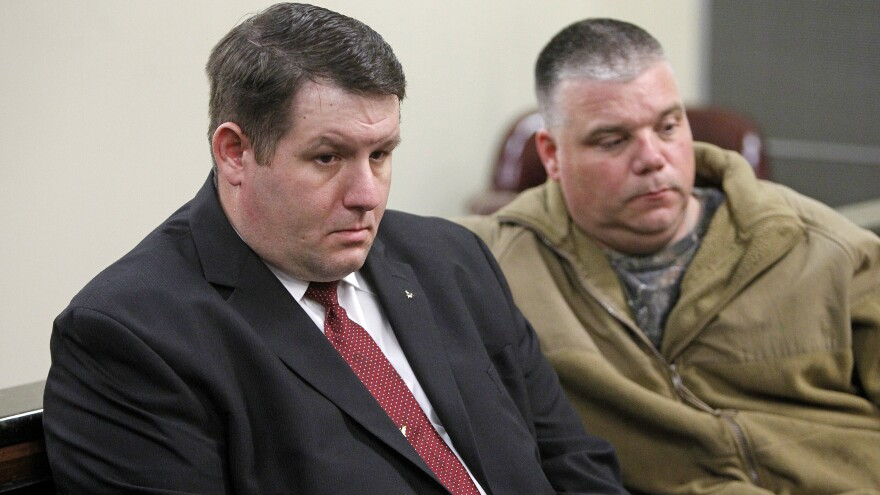 Former Eutawville police Chief Richard Combs (left) agreed to a deal Tuesday in which he'll avoid jail time over the 2011 shooting death of Bernard Bailey.