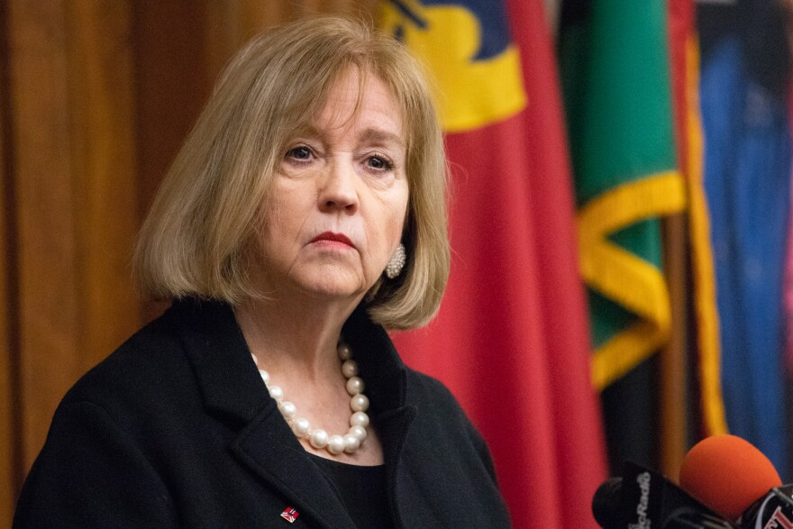 Some members of the Board of Aldermen were not happy with the way St. Louis Mayor Lyda Krewson handled the Board of Freeholders process.