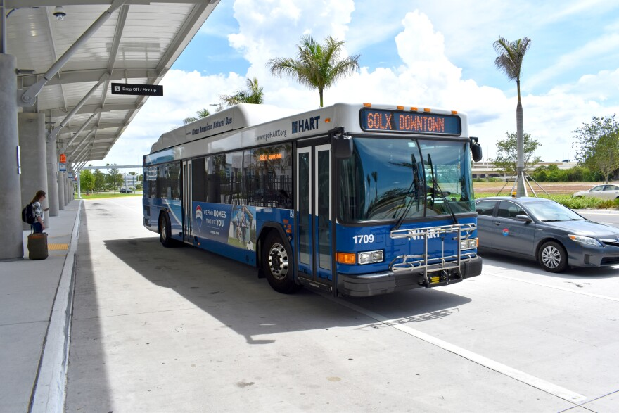The Hillsbrough Area Regional Transit Authority has promised to install protective barriers in all of their 180 buses and 12 HART flex vans. CREDIT: Hillsbrough Area Regional Transit Authority (HART)