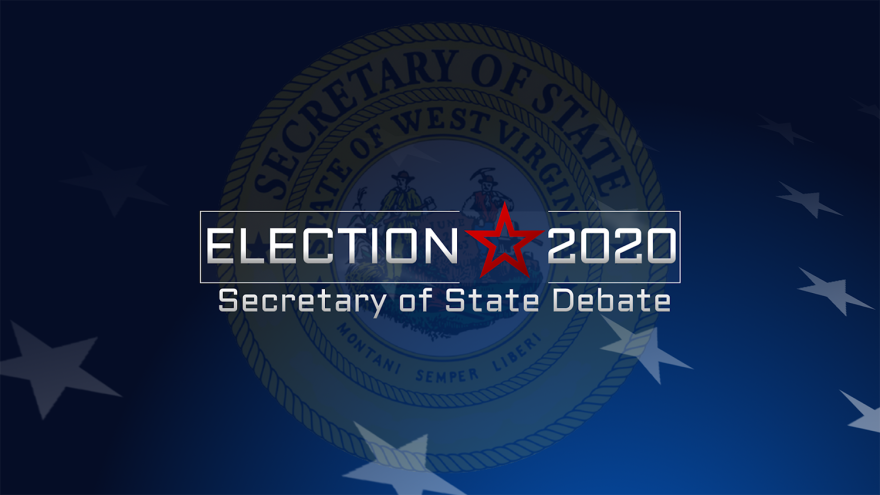 Graphic for Election 2020 Secretary of State Debate